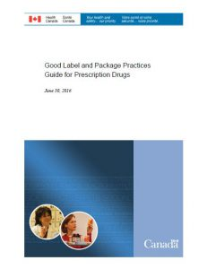 2016 Good Label and Package Practices Guide for Prescription Drugs