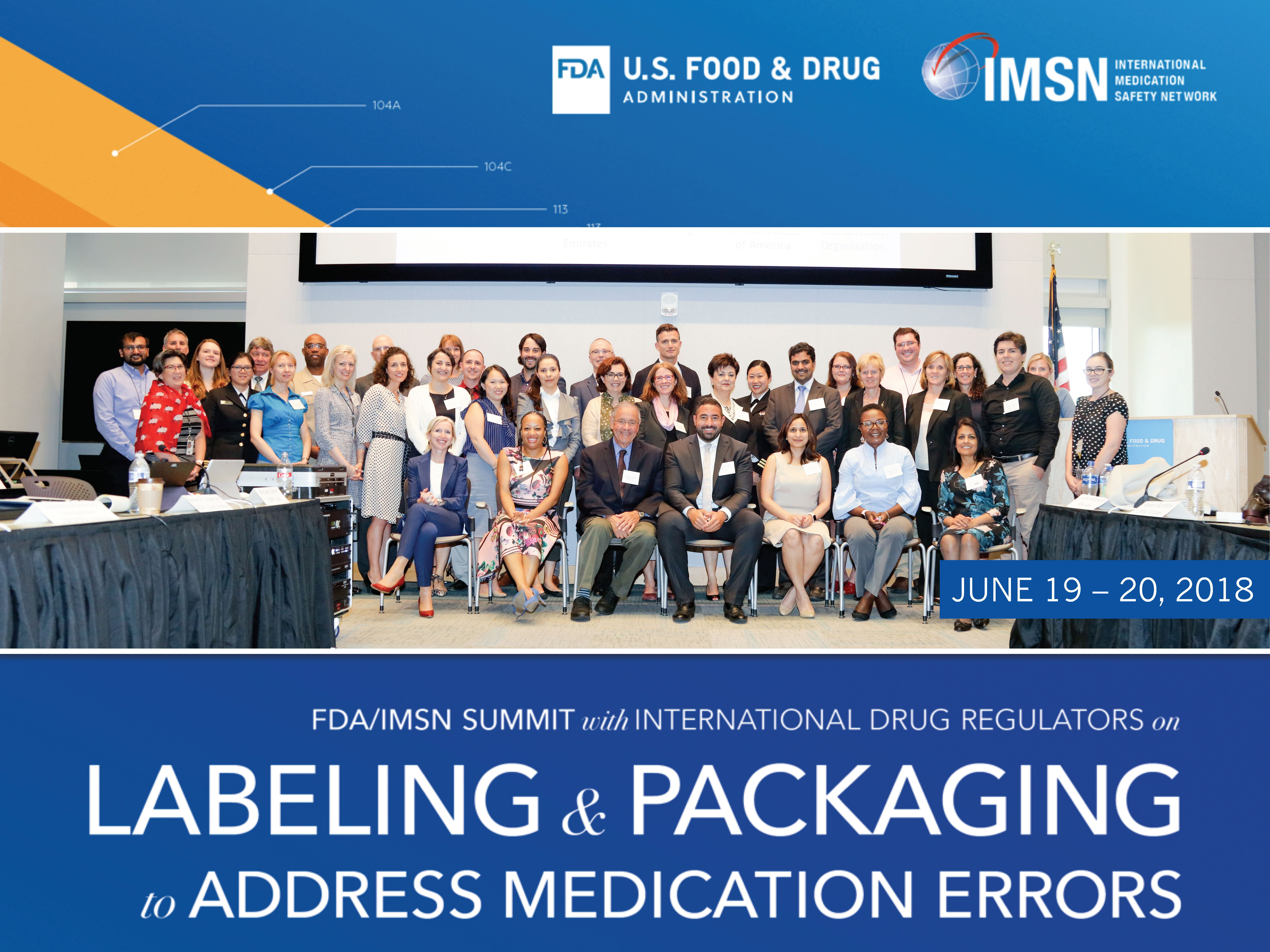 FDA/IMSN Joint Global Summit on Labelling and Packaging
